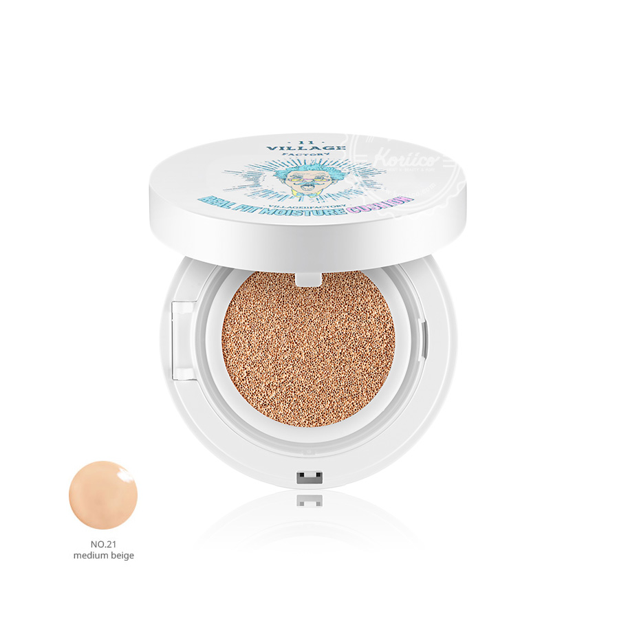 Real Fit Moisture Cushion SPF50+/PA+++ в интернет-магазине Skinly